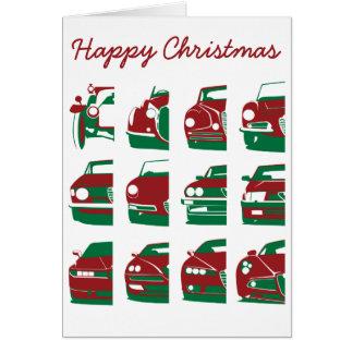 Alfa Romeo-Weihnachtskarte Karte