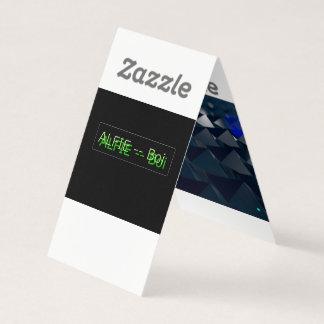 Alfie 123 -- Visitenkarte (NUR FÜR DAS Mitglied Visitenkarten