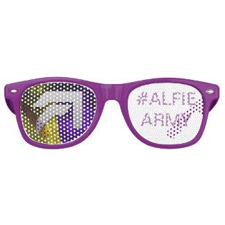Alfie Paynter #ALFUE ARMEE Sun shadex Retro Sonnenbrillen