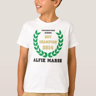 Alfie Sumpf, der Ente wandert T-Shirt