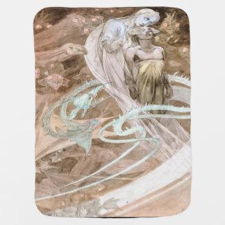 Alfons Mucha Le 1899 Pater Kinderwagendecke