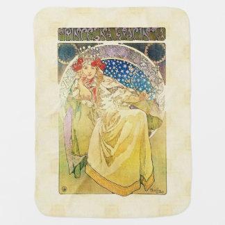 Alfons Mucha Princezna 1911 Hyacinta Kinderwagendecke