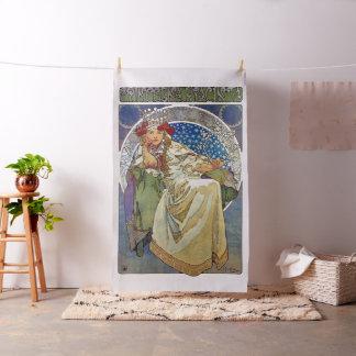 Alfons Mucha Princezna 1911 Hyacinta Stoff
