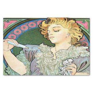 Alfons Muchalanze 1896 Parfum Rodo Seidenpapier