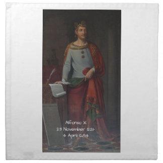 Alfonso X Serviette
