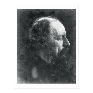 Alfred, Lord Tennyson (1809-92) c.1868 Postkarte