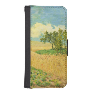 Alfred Sisley   das Getreidefeld iPhone SE/5/5s Geldbeutel