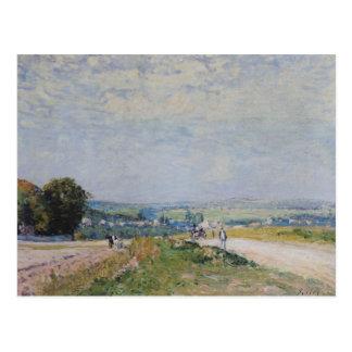 Alfred Sisley | die Straße zu Montbuisson Postkarte