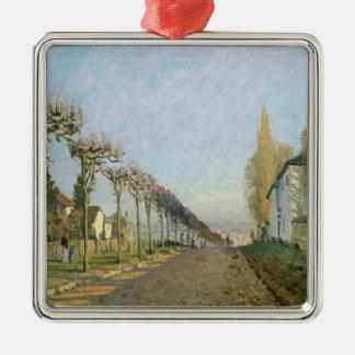 Alfred Sisley | Rue de la Machine, Louveciennes Silbernes Ornament