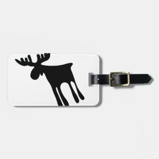 Älg / Moose Gepäckanhänger