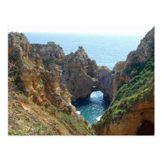 Algarve-Küste Postkarte