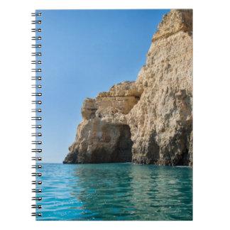 Algarve-Küstenanmerkungsbuch Notizblock