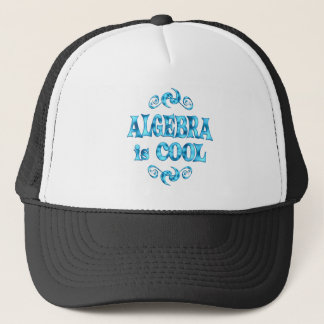 Algebra ist cool truckerkappe