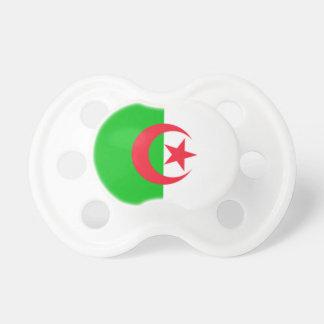 Algerien 0-6 Monat alte Flaggen-Schnuller Schnuller