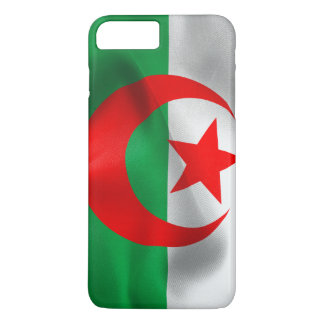 Algerien-Flagge iPhone 7 Plusfall iPhone 8 Plus/7 Plus Hülle