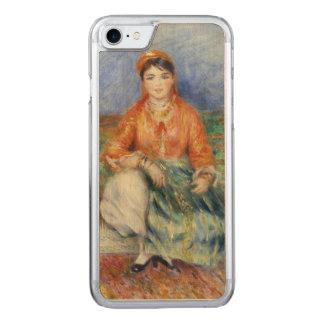 Algerisches Mädchen durch Pierre-Auguste Renoir Carved iPhone 8/7 Hülle