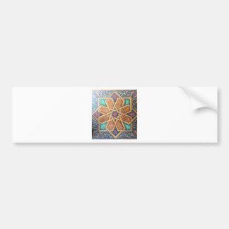 Alhambra-Entwurf #1 Autoaufkleber