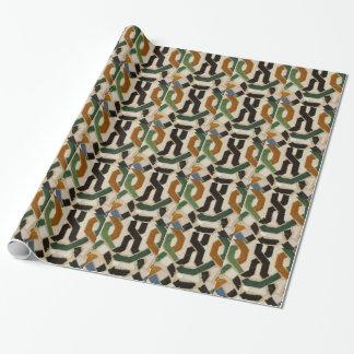 Alhambra-Wand-Fliese #2 Geschenkpapier