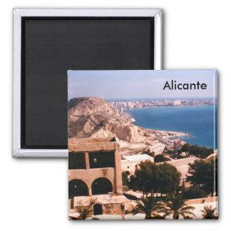 Alicante Quadratischer Magnet