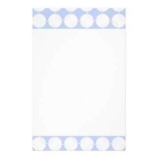 Alice blaues Wimbledon in einem englischen Briefpapier