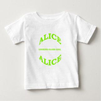 Alice das Spiegel-Mädchen Baby T-shirt