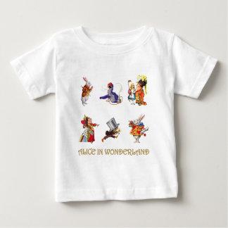 Alice, der wütende Hutmacher und andere Freunde Baby T-shirt