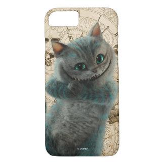 Alice durch das Katzen-Grinsen des Spiegel-| iPhone 8/7 Hülle