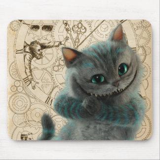 Alice durch das Katzen-Grinsen des Spiegel-  Mousepad