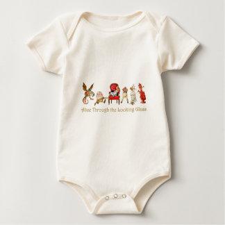 Alice durch den Spiegel Baby Strampler