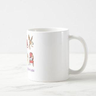 Alice durch den Spiegel Kaffeetasse
