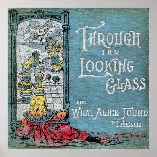 Alice durch den Spiegel Poster