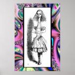 Alice groß gewachsen - Alice im Wunderland-Plakat Poster