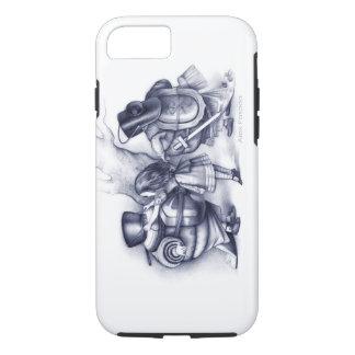 Alice hilft Tweedledee und Tweedledum Anzug oben iPhone 8/7 Hülle