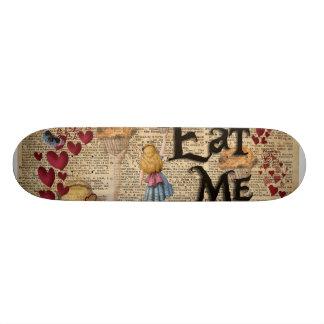 Alice im Märchenland essen mich Muffin Skateboarddecks