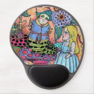 Alice im Wunderland, Alice trifft die Raupe Gel Mousepad