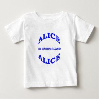 Alice im Wunderland Baby T-shirt