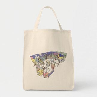 Alice im Wunderland-Bio Einkaufstasche