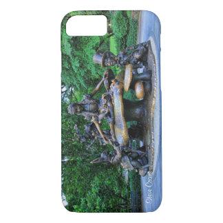 Alice im Wunderland - Central Park NYC iPhone 8/7 Hülle