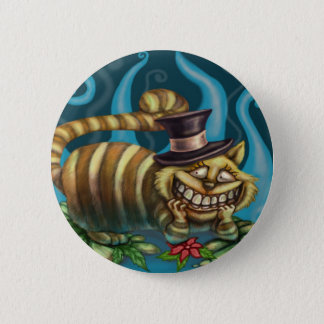 Alice im Wunderland-Cheshire-Katze Runder Button 5,1 Cm