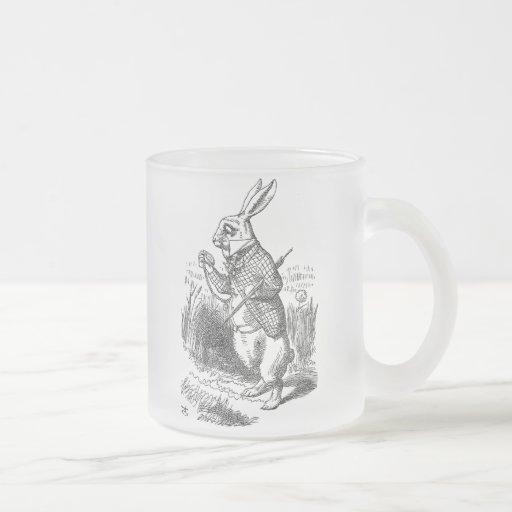 alice im wunderland das weisse kaninchen vintag tasse. Black Bedroom Furniture Sets. Home Design Ideas