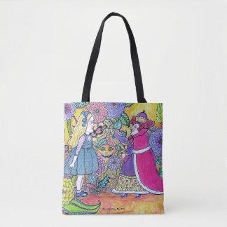 Alice im Wunderland, glauben das unmögliche Tasche