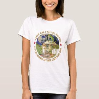 Alice im Wunderland - ich wusste, wem ich dieses T-Shirt