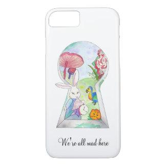 Alice im Wunderland iPhone 7 Fall iPhone 8/7 Hülle