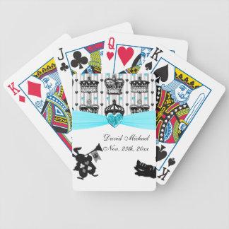 Alice im Wunderland-königliche Kronen-Baby-Dusche Bicycle Spielkarten