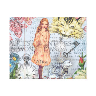 Alice im Wunderland Leinwanddruck