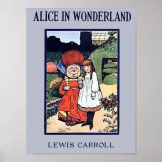 Alice im Wunderland-Plakat Poster