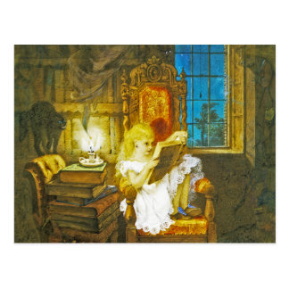"Alice im Wunderland-Postkarte:  ""Märchenland "" Postkarte"