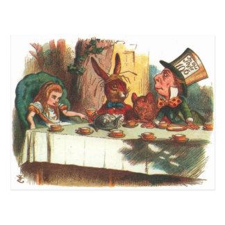 Alice im Wunderland-Produkte! Postkarten