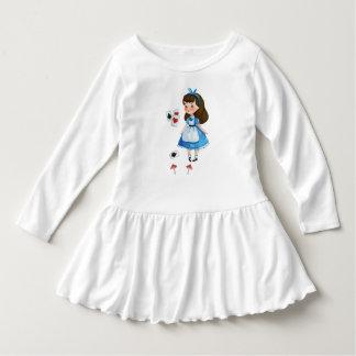 Alice im Wunderland-Reihe #1 Kleid
