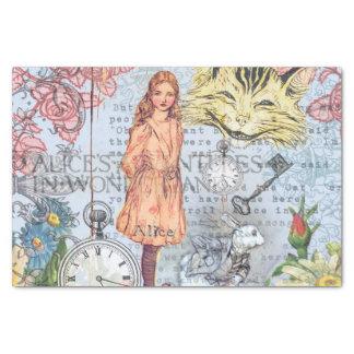 Alice im Wunderland Seidenpapier